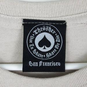 Thrasher Shirts - Thrasher Magazine Tiki T Shirt